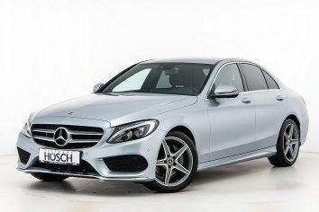 Mercedes-Benz C 220d AMG-Line Aut. LP: 57.215.- € bei Autohaus Hösch GmbH in
