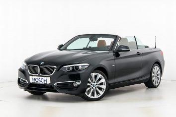 BMW 218d Cabrio Luxury Line Aut. LP:54.664,- € bei Autohaus Hösch GmbH in