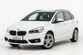 BMW 218d Active Tourer Sport Line LP:49.345,-€ bei Autohaus Hösch GmbH in