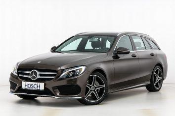 Mercedes-Benz C 220d Kombi Aut. AMG-Line  LP: 57.609.- € bei Autohaus Hösch GmbH in