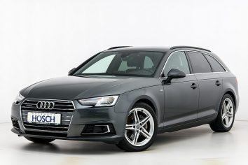 Audi A4 Avant 2,0 TDI quattro Sport S-Line S-tronic LP: 71.451,-€ bei Autohaus Hösch GmbH in