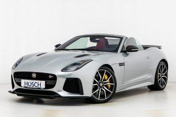 Jaguar F-Type SVR V8 Cabriolet AWD Aut. LP: 224.161,-€ bei Autohaus Hösch GmbH in
