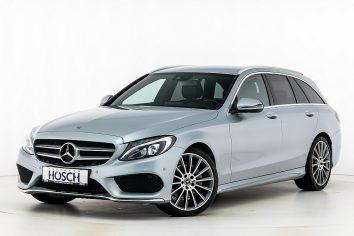 Mercedes-Benz C 220d Kombi AMG Line Aut. LP: 64.675,- € bei Autohaus Hösch GmbH in