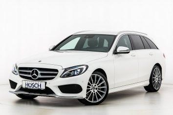 Mercedes-Benz C 220d Kombi AMG Line Aut. LP: 60.826,- € bei Autohaus Hösch GmbH in