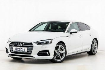 Audi A5 Sportback 2,0 TDI quattro Sport S-tronic LP: 60.134,- € bei Autohaus Hösch GmbH in