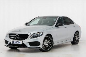 Mercedes-Benz C 180d AMG Line Aut. LP: 60.842,- € bei Autohaus Hösch GmbH in