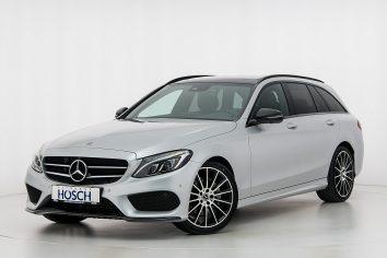 Mercedes-Benz C 180d Kombi AMG Line Aut. LP: 62.355,- € bei Autohaus Hösch GmbH in