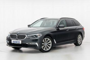 BMW 520d Touring Luxury-Line Aut. LP:77.901,-/mtl.307.-* bei Autohaus Hösch GmbH in