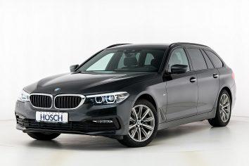 BMW 520d Touring xDrive Sport Line Aut. LP:71.794.-€ bei Autohaus Hösch GmbH in