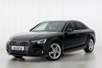 Audi A4 TDI quattro Sport S-Line Aut. LP:66.643,-/mtl.199.-* bei Autohaus Hösch GmbH in