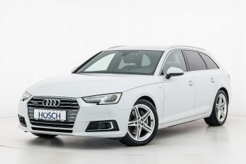 Audi A4 Avant TDI quattro Sport S-Line Aut. LP:69.231,-€ bei Autohaus Hösch GmbH in