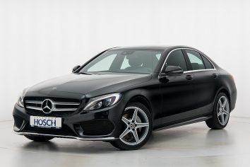 Mercedes-Benz C 220d 4MATIC AMG-Line Aut. LP: 60.548.- € bei Autohaus Hösch GmbH in
