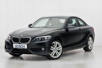 BMW 218d Coupe Sport Line Aut. LP:45.634,- /mtl.157.-* bei Autohaus Hösch GmbH in