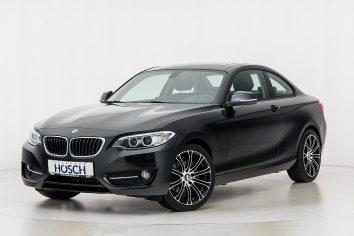 BMW 220d Coupe Sport Line xDrive Aut. LP:54.750.- € bei Autohaus Hösch GmbH in