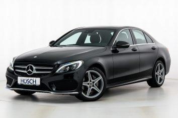 Mercedes-Benz C 220d 4MATIC AMG-Line Aut. LP:60.548.-€ bei Autohaus Hösch GmbH in