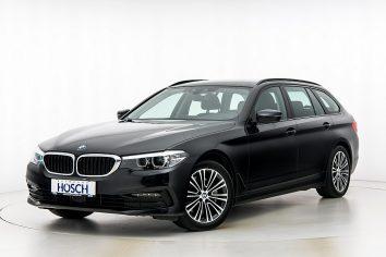BMW 525d Touring Sport Line Aut LP:73.349.-€ bei Autohaus Hösch GmbH in