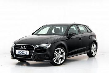 Audi A3 Sportback 30 TDI Sport S-Line Aut LP: 40.459,-€ bei Autohaus Hösch GmbH in