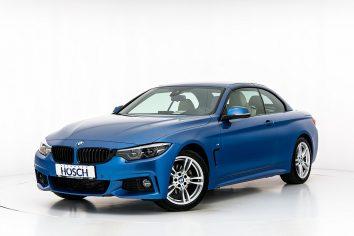 BMW 420d M-Sport Cabrio Aut. LP: 74.212.-€ bei Autohaus Hösch GmbH in