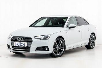 Audi A4 TDI quattro Sport S-Line Aut. LP:67.024,-€ bei Autohaus Hösch GmbH in