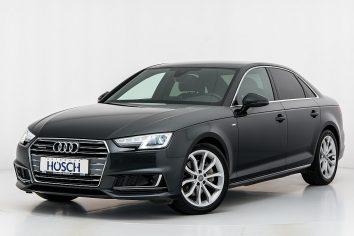 Audi A4 TDI quattro Sport 2x S-Line Aut. LP:66.730,-€ bei Autohaus Hösch GmbH in