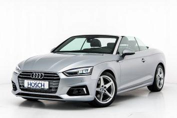 Audi A5 Cabriolet 40 TFSI Sport Aut. LP: 65.620,- € bei Autohaus Hösch GmbH in