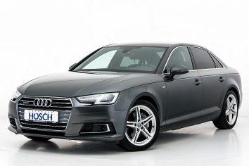 Audi A4 TDI quattro Sport S-Line Aut. LP:66.763.-€ bei Autohaus Hösch GmbH in