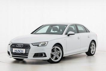 Audi A4 TDI quattro Sport S-Line Aut. LP: 67.009,-€ bei Autohaus Hösch GmbH in