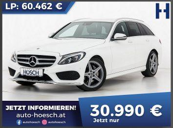 Mercedes-Benz C 220d Kombi AMG-Line Aut LP: 60.462.- € bei Autohaus Hösch GmbH in