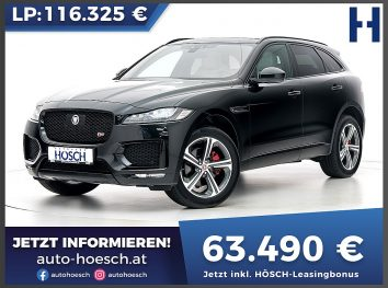 Jaguar F-Pace S AWD Aut. bei Autohaus Hösch GmbH in