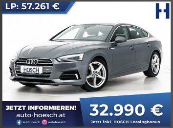 Audi A5 Sportback 40 TDI Sport Aut. bei Autohaus Hösch GmbH in