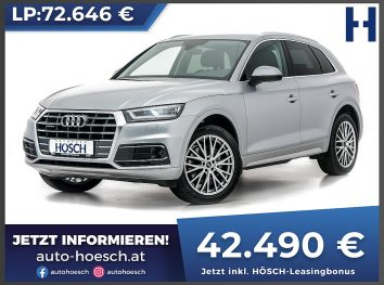 Audi Q5 40 TDI quattro Sport Aut bei Autohaus Hösch GmbH in