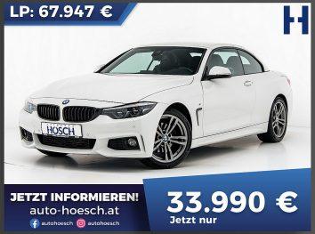 BMW 420d M-Sport Cabrio Aut. bei Autohaus Hösch GmbH in