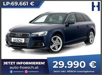 Audi A4 Avant TDI 4WD Sport S-Line Aut. bei Autohaus Hösch GmbH in