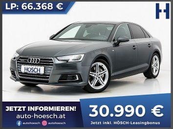 Audi A4 TDI quattro Sport S-Line Aut. bei Autohaus Hösch GmbH in