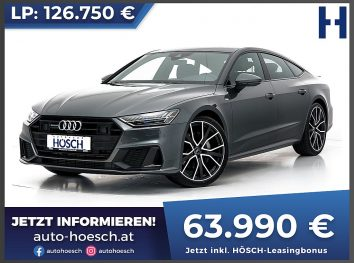Audi A7 Sportback 50 TDI quattro S-line Aut. bei Autohaus Hösch GmbH in