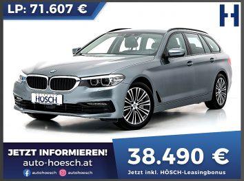 BMW 525d Touring Sport Line Aut. bei Autohaus Hösch GmbH in
