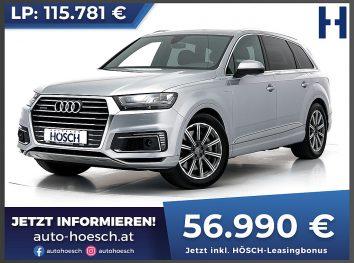 Audi Q7 e-tron 3.0 quattro S-Line Aut bei Autohaus Hösch GmbH in
