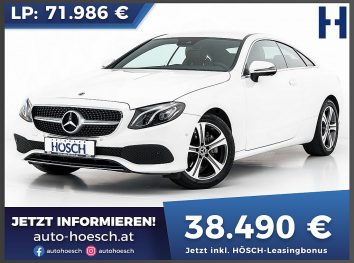 Mercedes-Benz E 200 Coupe Avantgarde Aut. bei Autohaus Hösch GmbH in