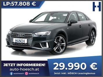 Audi A4 35 TDI Sport S-Line Aut. bei Autohaus Hösch GmbH in