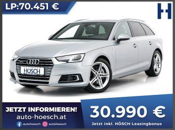 Audi A4 Avant TDI quattro Sport S-Line Aut. bei Autohaus Hösch GmbH in