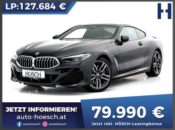 BMW 840d xDrive M-Sport Coupe Aut bei Autohaus Hösch GmbH in