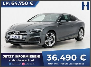 Audi A5 Coupe 2.0 TDI quattro Sport S-line Aut. bei Autohaus Hösch GmbH in