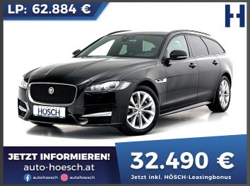 Jaguar XF Sportbrake 20d R-Sport Aut. bei Autohaus Hösch GmbH in