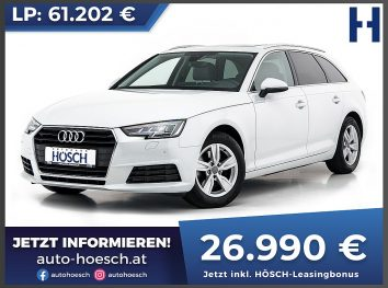 Audi A4 Avant 2.0 TDI bei Autohaus Hösch GmbH in