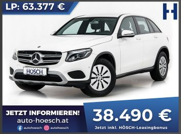 Mercedes-Benz GLC 250d 4Matic Aut. bei Autohaus Hösch GmbH in