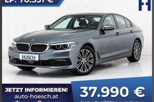 BMW 525d Sport Line Aut. bei Autohaus Hösch GmbH in