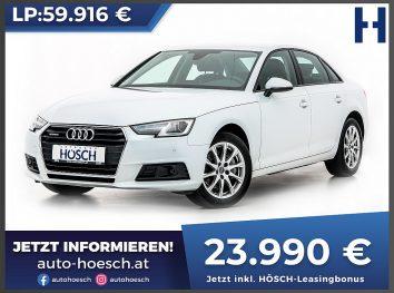 Audi A4 TDI quattro Aut. bei Autohaus Hösch GmbH in