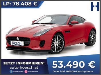 Jaguar F-Type Coupe 2.0 i4 Aut. bei Autohaus Hösch GmbH in
