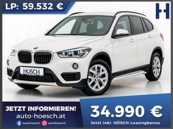 BMW X1 xDrive 20d Sport Line Aut. bei Autohaus Hösch GmbH in