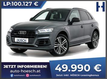 Audi Q5 50 TDI quattro Sport 2xS-Line Aut bei Autohaus Hösch GmbH in